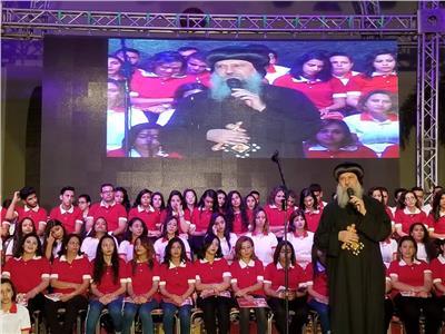 الأنبا ماركوس: حبيب جرجس أنار الكنيسة القبطية بـ«مدارس الأحد»