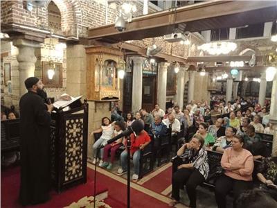كنائس زويلة الأثرية تحتفل برأس السنة القبطية