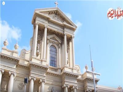 كاتدرائية «سانت كاترين» أيقونه معمارية عمرها أكثر من 160 عام