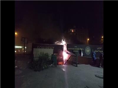 عاجل| اندلاع حريق بلوحة إعلانات أمام نفق اللبيني بالهرم (فيديو)