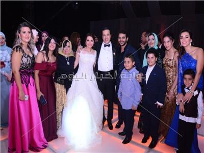 صور..حفل زفاف ياسر الملاح ومنال الشلقاني بحضور نجوم المجتمع