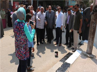 تواصل أعمال «مبادرة جمل مدينتك» بالفيوم