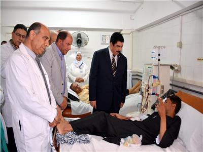 صور| محافظ القليوبية يتفقد إنشاءات مستشفى «القناطر الخيرية»