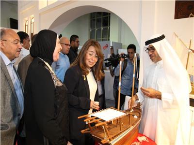وزيرة التضامن تتفقد أجنحة معرض جهاز تنمية المشروعات «تراثنا»