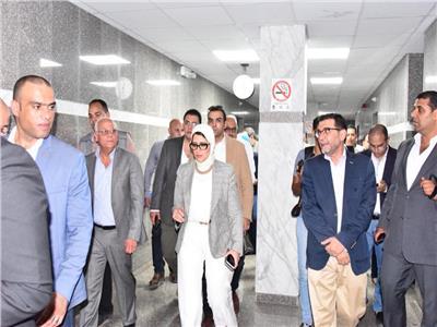 وزيرة الصحة: محافظة بورسعيد ستشهد طفرة طبية غير مسبوقة العام القادم