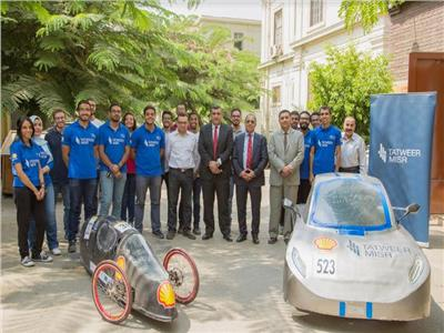 تطوير مصر ترعى فريق طلبة هندسة القاهرة في ماراثون «شل البيئي»