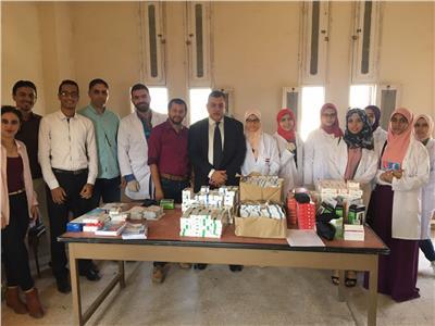 قافلة طبية لحملة «إحساسك نعمة» تكشف على 285 مريضًا ببورسعيد