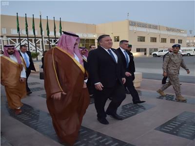 وزير الخارجية الأمريكي يغادر الرياض