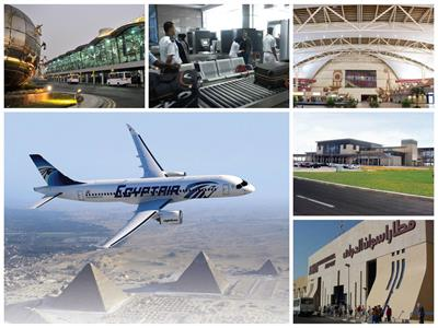 رؤية مصر 2020| الطيران المدني.. مطارات جديدة وتحديث أسطول الشركة الوطنية