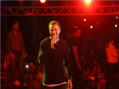 صور| رامي صبري يحي حفلا أسطوريا بالمنيا