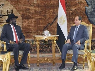 السيسي: حريصون على دعم إحلال السلام بجنوب السودان