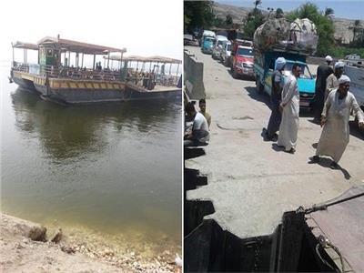 إنقاذ 30 مواطنًا من الغرق فى مياه النيل بعد سقوط باب عبارة