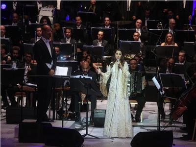اختتام فعاليات مهرجان الموسيقى العربية الـ27 بحفل ماجدة الرومي