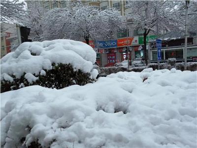فيديو| «بوابة أخبار اليوم» تعيش في درجة حرارة ٢١ تحت الصفر بالصين