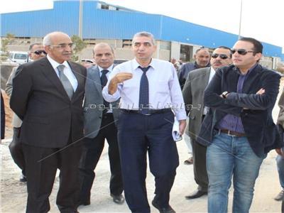 رئيس «القابضة المعدنية» يتفقد أعمال ميتالكو في الروبيكي