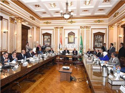 صور  اجتماع مجلس جامعة القاهرة بحضور رئيس مجلس النواب