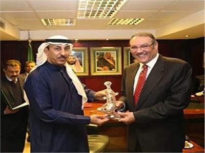 السفير «نقلي»يزور الملحقية الثقافية السعودية بالقاهرة