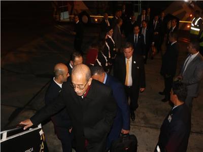 مطار شرم الشيخ الدولي يودع وفود «منتدى أفريقيا 2018».. صور