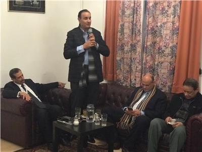 محمد البهنساوي من النمسا: مصر تعرضت  لحملة شرسة بعد ثورة ٣٠ يونيو