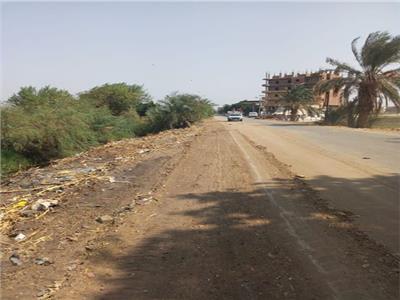 إزالة 59 حالة تعد على أراضي زراعية وأملاك دولة بديرمواس في المنيا