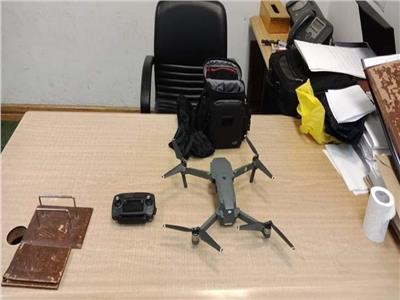إحباط محاولة تهريب طائرة تجسس بمطار برج العرب