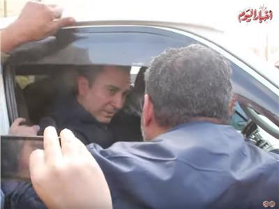 فيديو   لحظة تشييع جثمان الراحل سعيد عبد الغني