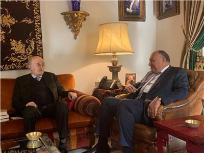 وزير الخارجية يلتقي رئيس الحزب التقدمي الاشتراكي اللبناني