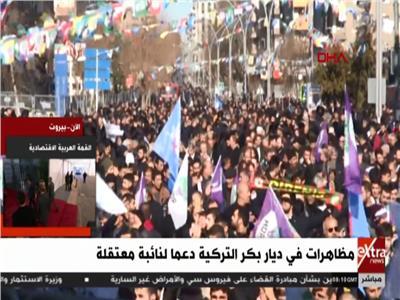 شاهد  مظاهرات ترفع أعلام حزب موالٍ للأكراد في تركيا