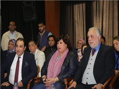 وزيرة الثقافة تطلع على مقترح تطوير معهد الموسيقى العربية