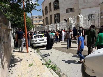المرصد السوري: انتحارية تستهدف مقر المجلس الحاكم في إدلب