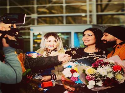 الخشاب وسعد يحتفلان بعيد الحب في العراق