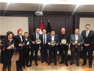 الداخلية تكرم سيدة المسرح العربى وخالد جلال وفريق عمل احتفالية عيد الشرطة الـ٦٧