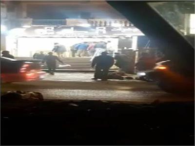 صور| تفاصيل حادث السطو المسلح على محل مجوهرات بالهرم