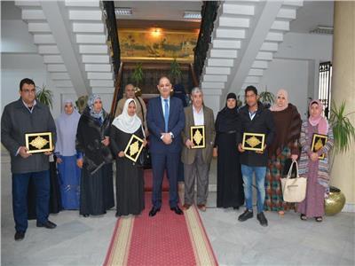 محافظ الغربية يكرم الفائزين في مسابقة «مع حجاج بيت الله الحرام»