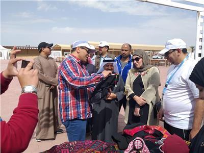 صور  انطلاق مهرجان «خيرات بلادي» ضمن احتفالات الجالية المصرية في الكويت