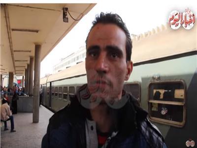 فيديو  لحظات صعبة يرويها منقذ ضحايا حريق محطة مصر.. أقساها استغاثة طفل