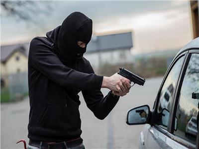سطو مسلح على سيارة بضائع بطريق إسكندرية الصحراوي