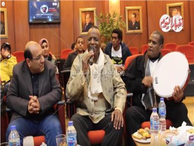 فيديو  حسن عبد المجيد يُغني «ربك هو العالم» في ليلة تكريم أحمد منيب