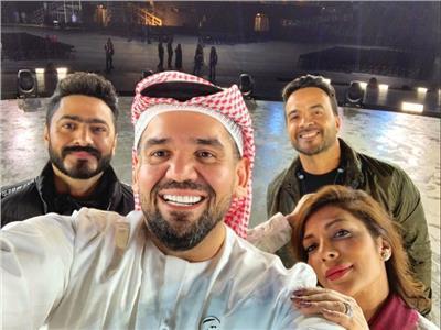حسين الجسمي وتامر حسني يوجهان رسالة حب لأبطال «الأولمبياد الخاص»