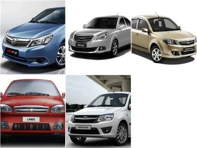 ننشر مواصفات وأسعار أرخص 5 سيارات «سيدان» في مصر