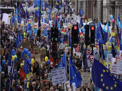مليون بريطاني يحتشدون في لندن للمطالبة باستفتاء ثانٍ حول «بريكست»