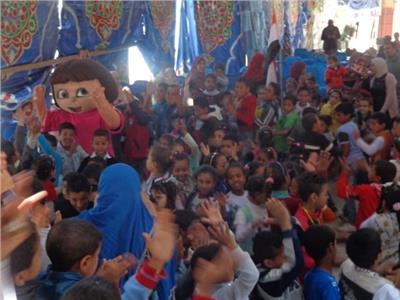 جمعية سيدات الأعمال تحتفل بأطفال مدارس أبوتيج