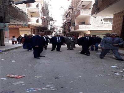 محافظ القاهرة يأمر بإزالة عقار مخالف بالمرج