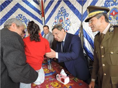 مدير أمن البحيرة يشهد الاحتفال بيوم اليتيم بدمنهور