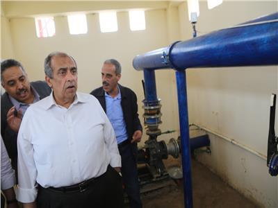 «أبو ستيت» يختتم جولته في سوهاج بزيارة مشروع تطوير الري الحقلي