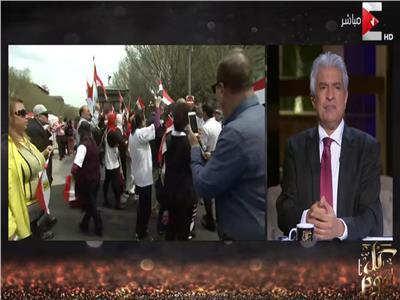 فيديو| وائل الإبراشي: العالم كله يترقب القمة المصرية الأمريكية