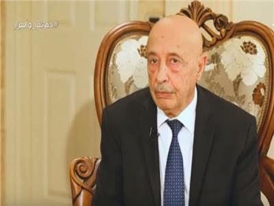 عقيلة صالح: الجيش الليبي تحرك لحماية الدستور ومؤسسات الدولة