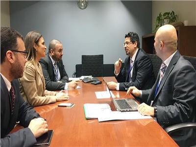 سحر نصر تتفق مع مؤسسة «القطاع الخاص» علي تمويل مشروعات البنية الأساسية