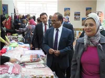 المالية تستضيف معرض التراث المصري والحرف اليدوية لأهالي المدن الحدودية