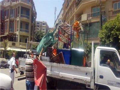 ضبط 38 حالة اشتباه في حملة أمنية بالجيزة